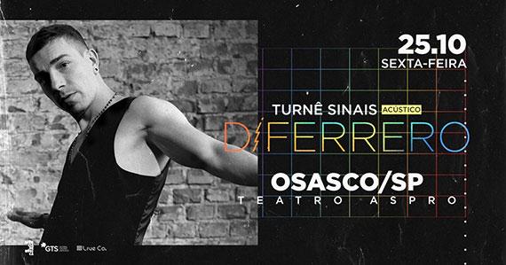 Di Ferrero chega com nova turnê ao Teatro Aspro Eventos BaresSP 570x300 imagem