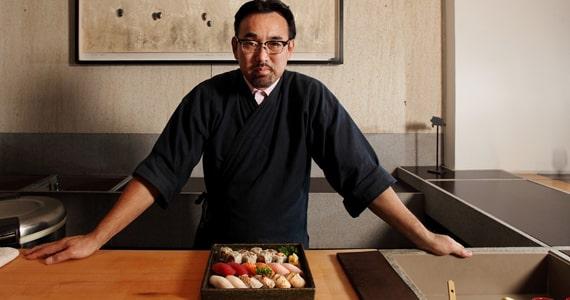 Chef Jun Sakamoto servirá jantar especial para os apaixonados Eventos BaresSP 570x300 imagem