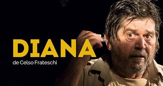 Diana com Celson Frateschi está em cartaz no Ágora Teatro Eventos BaresSP 570x300 imagem