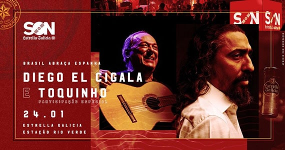 Diego El Cigala e Toquinho realizam show juntos na Estrella Galicia Eventos BaresSP 570x300 imagem