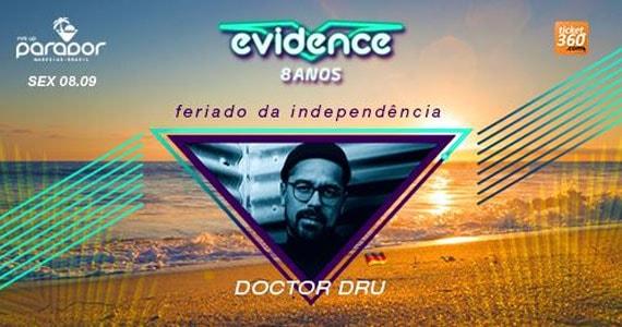 Evidence 08 anos com o Dj Doctor Dru (Alemanha)agitando o feriado no Parador Maresias Eventos BaresSP 570x300 imagem