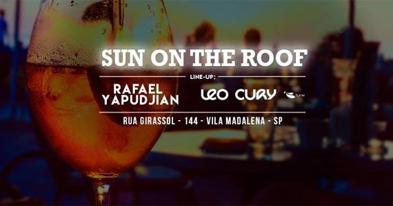 Domingo tem Sun On The Roof com os Djs Leo Cury e Rafael Yapudjian no High Line Eventos BaresSP 570x300 imagem
