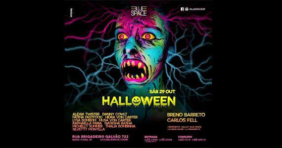 Festa de Halloween com long set de Herbert Tonn no Blue Space Eventos BaresSP 570x300 imagem