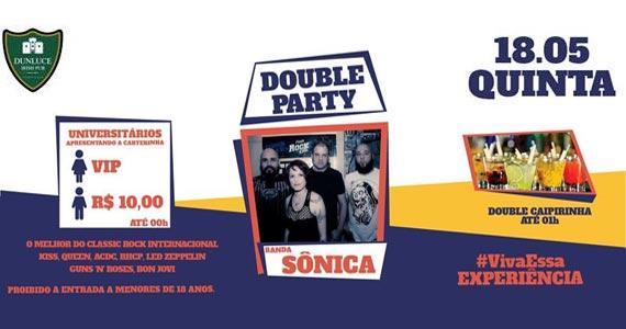 O melhor do classic rock com a banda Sônica animando à noite no Dunluce Eventos BaresSP 570x300 imagem