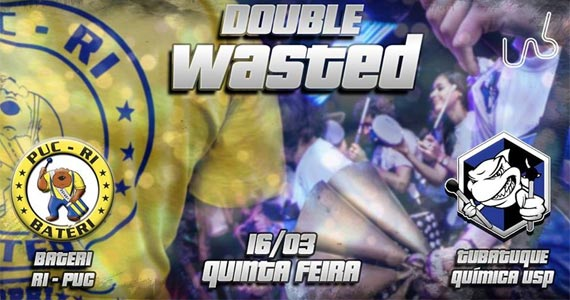 Festa Wasted Batéri x Tubatuque com Double Vodka na Lab Club Eventos BaresSP 570x300 imagem