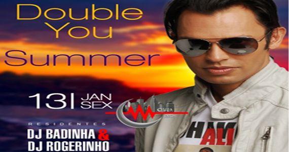 Double You Summer Edition na Over Night com os Djs Rogerinho e Badinha Eventos BaresSP 570x300 imagem