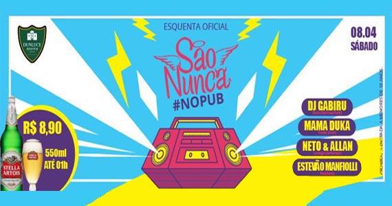 Esquenta São Nunca com a dupla sertaneja Allan & Neto no Dunluce Pub Eventos BaresSP 570x300 imagem
