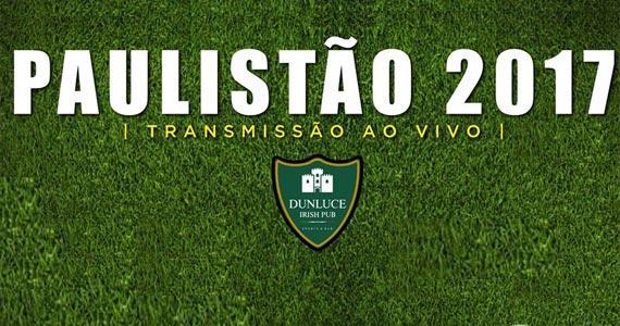 Quarta-feira é dia de jogo de futebol nas telas do Dunluce Irish Pub Eventos BaresSP 570x300 imagem