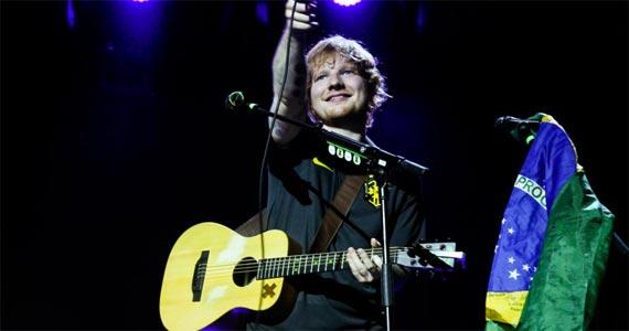 Ed Sheeran no Allianz Parque