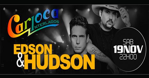 A dupla sertaneja Edson e Hudson invade o palco do Carioca Club Interlagos e cantam os seus sucessos Eventos BaresSP 570x300 imagem
