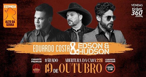 Eduardo Costa e Edson & Hudson fazem show na Estância Eventos BaresSP 570x300 imagem