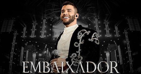 Gusttavo Lima apresenta O Embaixador in Concert no Unimed Hall Eventos BaresSP 570x300 imagem