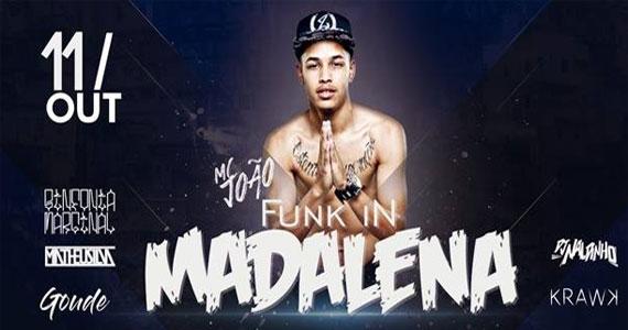 Véspera de feriado com muito funk no Enfarta Madalena com a noite Funk in Madalena Eventos BaresSP 570x300 imagem