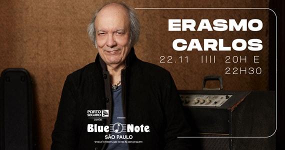 Erasmo Carlos toma o palco do Blue Note para apresentar o show Amor é Isso Eventos BaresSP 570x300 imagem