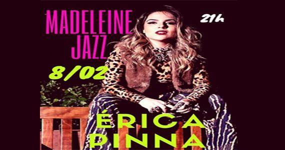 Quarta-feira a cantora Erica Pinna apresenta no Bar Madeleine os seus sucessos Eventos BaresSP 570x300 imagem