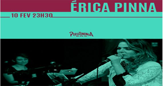 Clássicos do Jazz, Blues e Soul com Érica Pinna no Piratininga Bar Eventos BaresSP 570x300 imagem
