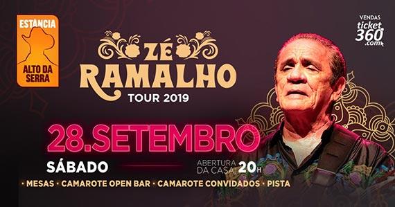 Zé Ramalho realiza show único na Estância Alto da Serra Eventos BaresSP 570x300 imagem