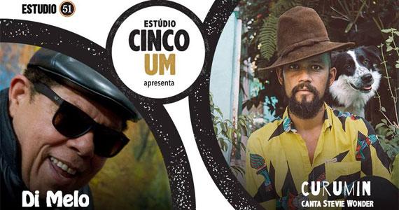 Festival Estúdio Cinco traz o som de  Di Melo e Curumin no Estúdio, nesta sexta-feira Eventos BaresSP 570x300 imagem