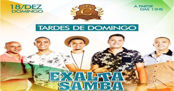 O Grupo Exaltasamba canta os seus maiores sucessos na Tardezinha da Companhia da Cerveja Eventos BaresSP 570x300 imagem