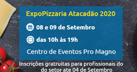ExpoPizzaria realiza a décima edição em setembro Eventos BaresSP 570x300 imagem