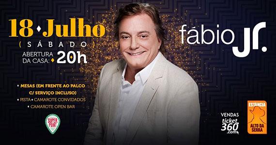 Fábio Jr. apresenta seus maiores sucessos no palco da Estância Eventos BaresSP 570x300 imagem