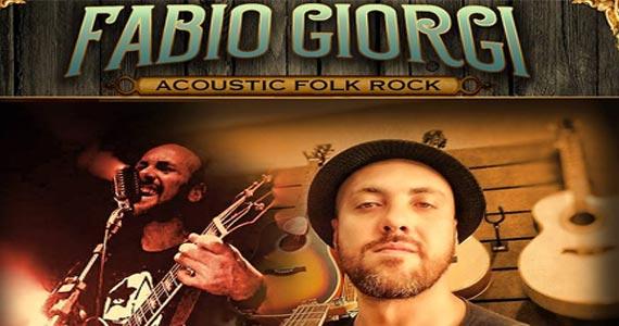Acoustic folk rock com o músico Fabio Giorgi no The Lord Black Irish Pub Eventos BaresSP 570x300 imagem