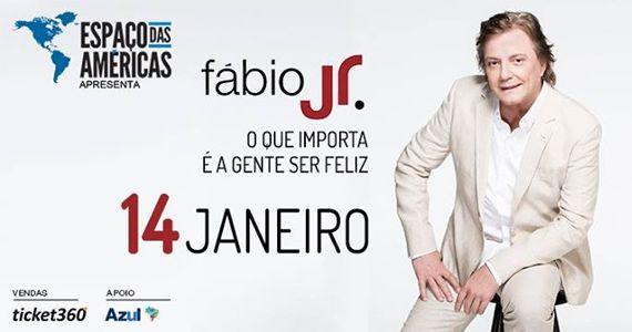 Fábio Jr apresenta a turnê O que importa é a gente ser feliz no Espaço das Américas Eventos BaresSP 570x300 imagem