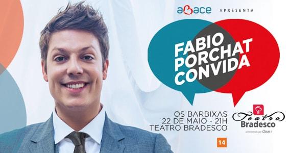 Fabio Porchat Convida os Barbixas no Teatro Bradesco Eventos BaresSP 570x300 imagem