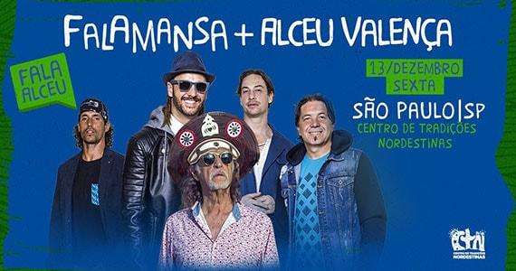 Falamansa e Alceu Valença realizam show no CTN Eventos BaresSP 570x300 imagem
