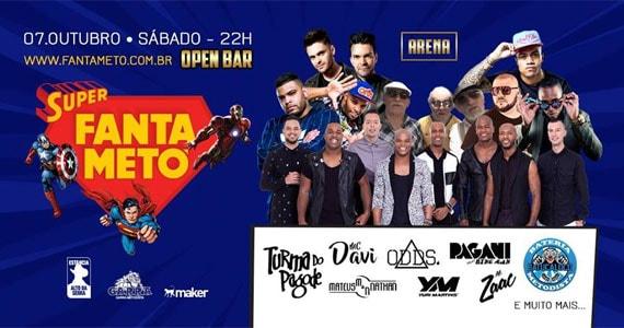Festa Super FantaMetô 2017 agita o Estância Alto da Serra Eventos BaresSP 570x300 imagem