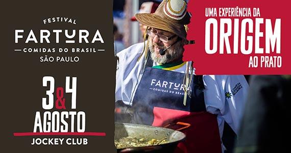 Festival Fartura São Paulo com atrações musicais em dois dias de evento no Jockey Club Eventos BaresSP 570x300 imagem