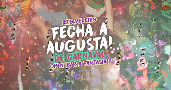 Segunda-feira tem Fecha a Augusta com Open Bar Duplo de Carnaval no Beco 203 e Anexo Eventos BaresSP 570x300 imagem