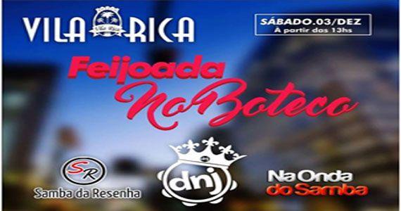 Sábado o boteco Vila Rica recebe o melhor do samba e pagode no sábado Eventos BaresSP 570x300 imagem