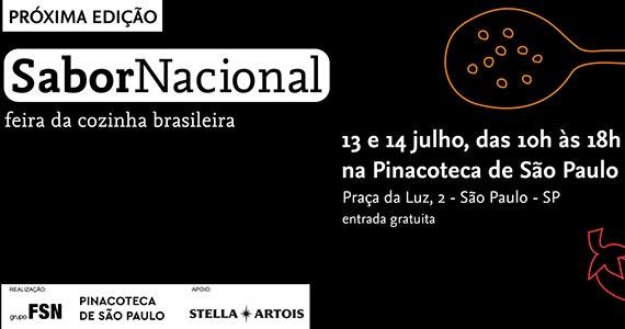 Feira Sabor Nacional realiza 1ª edição na Pinacoteca de São Paulo Eventos BaresSP 570x300 imagem