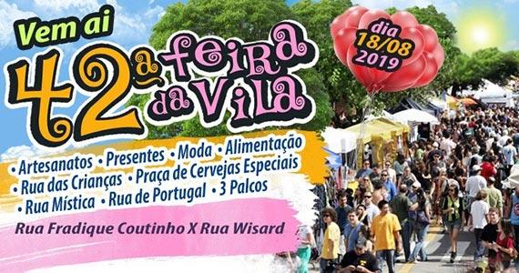 Feira de Artes da Vila Madalena comemora 42 anos no Centro Cultural Vila Madalena Eventos BaresSP 570x300 imagem