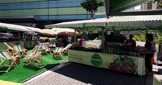 Feira de Orgânicos do Shopping VillaLobos oferece alimentos de alta qualidade nutricional Eventos BaresSP 570x300 imagem