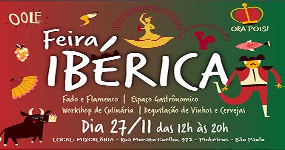 Portugal e Espanha desembarcam em São Paulo na 1° Feira Ibérica na Mixcelânia  Eventos BaresSP 570x300 imagem