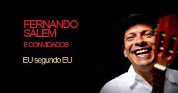 Teatro Viradalata recebe o show do compositor, intérprete e produtor musical Fernando Salém  Eventos BaresSP 570x300 imagem