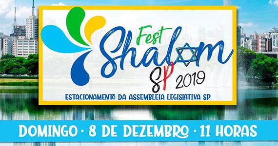 Fest Shalom SP reúne gastronomia, arte e cultura judaica Eventos BaresSP 570x300 imagem