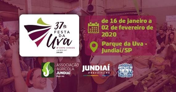 Festa da Uva de Jundiaí reúne atrativos diferenciais Eventos BaresSP 570x300 imagem