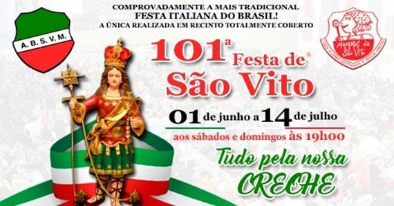 Festa de São Vito acontece entre junho e julho na região do Brás Eventos BaresSP 570x300 imagem