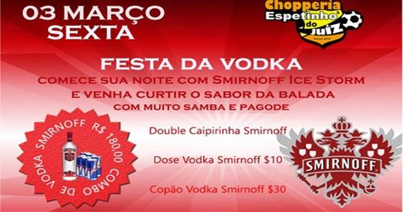Festa da Vodka embala à noite de sexta no Bar Espetinho do Juiz Patriarca Eventos BaresSP 570x300 imagem
