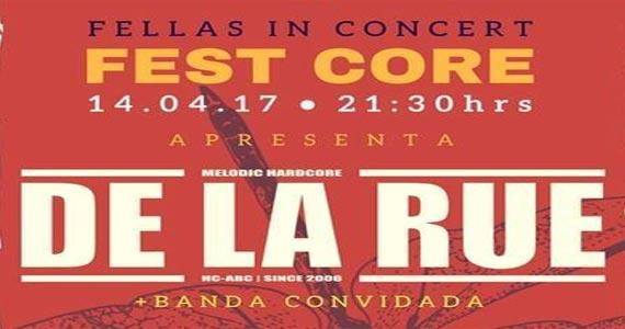 Preparem os ouvidos que a banda De La Rue vai invadir o palco do Goodfellas Bar Eventos BaresSP 570x300 imagem