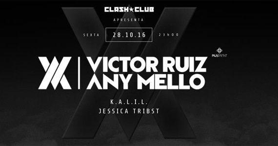 Festa de Despedida de Victor Ruiz AV Any Mello nesta sexta-feira na Clash Club Eventos BaresSP 570x300 imagem