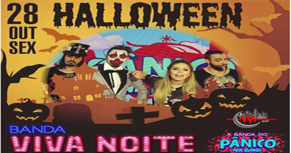 A Banda Viva e os Djs Badinha e Rogerinho animam a Festa de Halloween no Over Night Eventos BaresSP 570x300 imagem