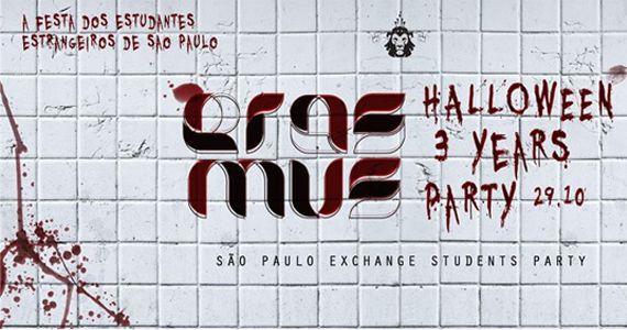3 anos de Festa Erasmus São Paulo com uma edição tenebrosa de Halloween no Lions Nightclub Eventos BaresSP 570x300 imagem