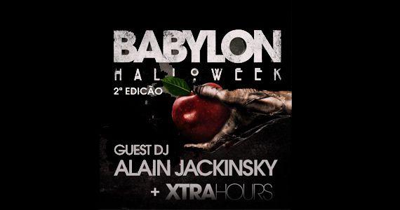 Dj Alain Jackinsky agita a pista na Festa de Halloween da The Week neste sábado Eventos BaresSP 570x300 imagem