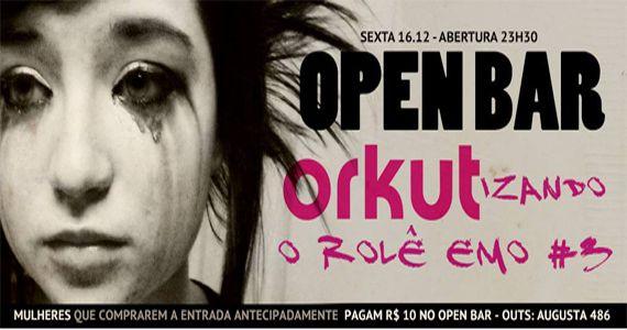 Sexta-feira é dia da última Festa Emo com Open Bar do ano na Outs Club Eventos BaresSP 570x300 imagem