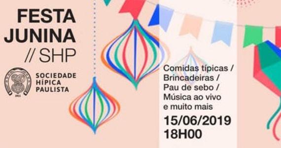 Sociedade Hípica Paulista promove Festa Junina Eventos BaresSP 570x300 imagem