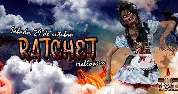 Sábado tem a Festa Ratchet de Halloween no Blue Space com muito pop, black e funk Eventos BaresSP 570x300 imagem